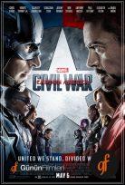 Kaptan Amerika İç Savaş izle 2016 Kahramanların Savaşı